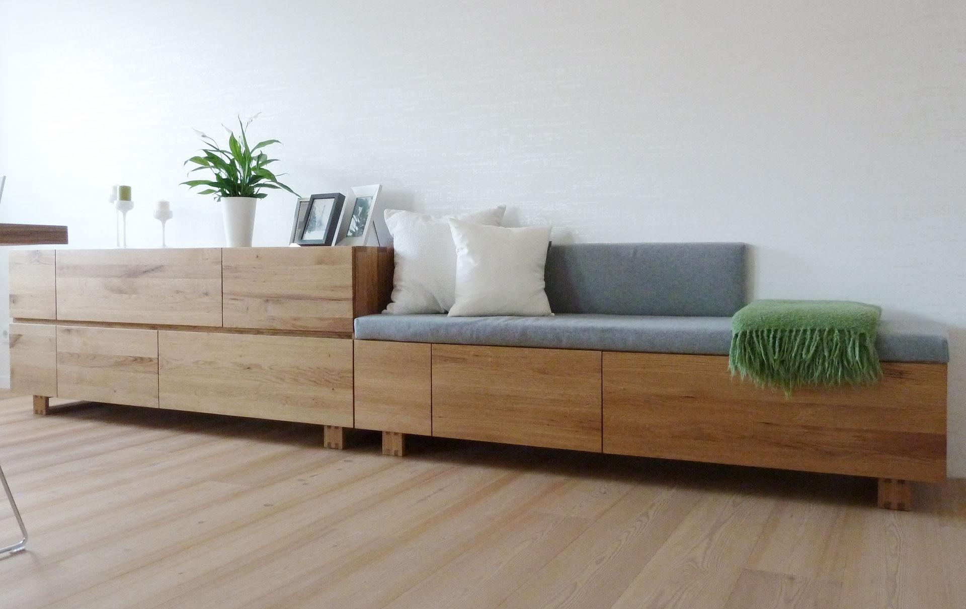 esszimmer aus eiche von tino skuthan schreinerei und. Black Bedroom Furniture Sets. Home Design Ideas