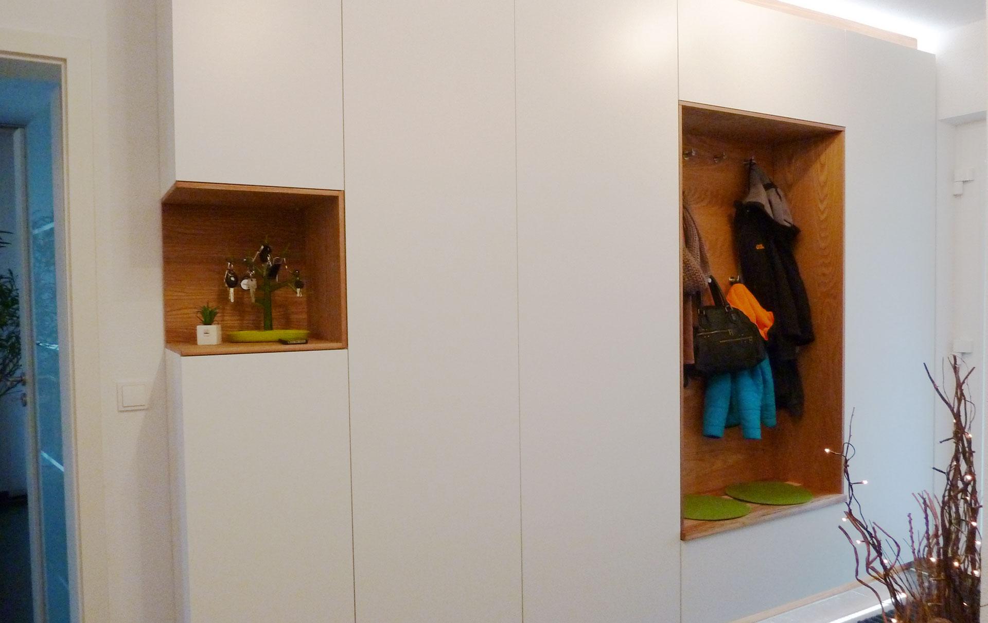 Verschiedene Garderobe Weiß Eiche Galerie Von 06 Fullscreen01